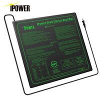 "iPower Seedling Heat Mat 20""x20"" Seed Starter Pad Germination Propagation Clone"
