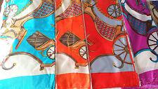 Joblot 24 un. Imitación Seda scarf/scarves Venta Por Mayor Nuevos 90x90 Cm Lote H