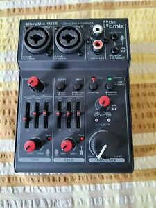 The t.mix MicroMix 1 USB. 2-Channel Micro Mixer.Barely used.