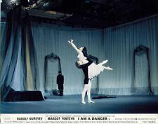 I Am A Dancer original lobby card Rudolf Nureyev Margot Fonteyn in his arms