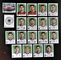 Panini WM 2010 Deutschland Germany Mannschaft Team Complete Set World Cup WC 10