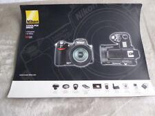 Nikon Coolpix 8800 Distribuidor mostrador de venta Alfombra de pantalla de una sola cara