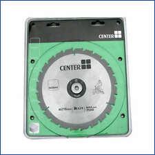 BUILD CENTRE CIRCULAR SAW BLADE 216MM X 24T MAX RPM 7500 N30640 BNIP UK SELLER