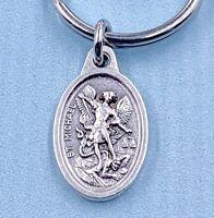 Lot 5 Archangel Michael Key Ring Guardian Angel Medal Archangel Michael Medal