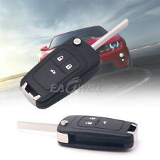 3 Button Remote Car Fob Key Shell Case Cover for 2011-2013 Chevrolet Cruze Volt