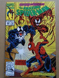 AMAZING SPIDER-MAN #362 2nd Carnage Marvel Comics 1992 NM/NM+ HIGH GRADE