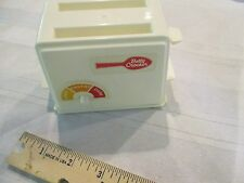 Vintage Betty Crocker Pretend Play Kitchen Toy Toaster by TootsieToy