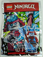 ORIGINAL LEGO Ninjago Limited Edition Minifigure BLIZZARD - New Foil Pack 891952