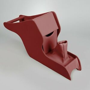 1968-1974 Volkswagen Ghia RED Center Console with Shift Boot 398219881