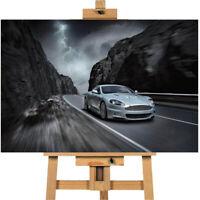 Aston Martin Canvas Print Wall Art Poster