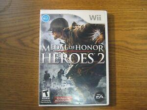 Medal of Honor Heroes 2 Nintendo Wii Military Combat Game
