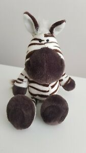 "NICI Germany Zebra Soft Plush Toy 11"""