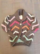 Gymboree Girls Chevron Chic Long Sleeve Sweater Size Xs (3-4)