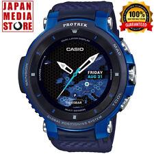 CASIO PRO TREK WSD-F30-BU Smart Outdoor Watch Android Wear Smartwatch GPS JAPAN