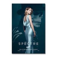 James Bond 007 No Time to Die Movie Art Silk Canvas Poster Print 24x36inch
