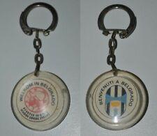 JUVENTUS vs AJAX 1973 Belgrade European Cup Final football keychain keyring RARE