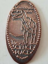 The Science Place T-Rex Dinosaur Pressed Penny Smashed Elongated