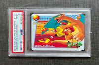 Pokemon PSA 9 Charizard vs Magmar Bandai #107 Mint