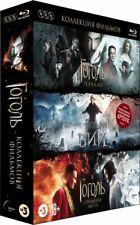NEW* Gogol Trilogy (Blu-ray, 3-Disc set+Artbook) Russian movie, w.English sub.