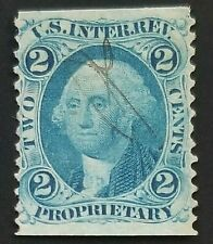 US REVENUE R13b PROPRIETARY PART PERF NICE STAMP