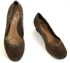 CLARKS - Chaussures compensées cuir daim marron 4.5 37.5 - EXCELLENT ETAT