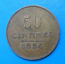 91 Essonne Yerres filature de l'abbaye 50 centimes 1884 Elie 10.4
