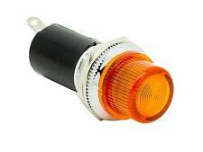 "PL1603Y ATI 16mm 5/8"" Yellow 12V LED Signal Indicator Pilot Dash Light Hot Rod"
