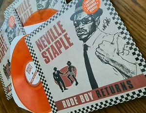SIGNED LP CD DVD FROM THE SPECIALS RUDE BOY RETURNS NEVILLE STAPLE 2TONE SKA