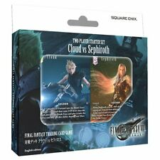 Final Fantasy TCG Versus Deck Cloud vs Sephiroth