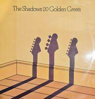 The Shadows 20 Golden Greats - Vinyl LP Album Record