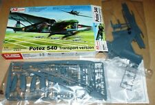 Potez 540 Transport version (3x camo,ex-Heller) in 1/72 von AZ Model