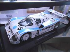 Porsche 962 962c 956 II Blaupunkt Joest 1000km caoutchouc nitrile butadiène 1987 wollek Ludwig NOREV 1:18