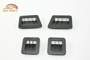 AUDI A8 UNDER SEAT FLOOR FOOT AIR VENT GRILLE OEM 2011 - 2017 ✔️ -SET OF 4-