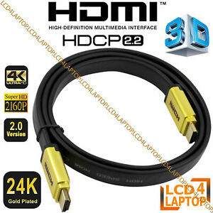 HDMI Cable Lead V2.0 HD High Speed 4K/3D/PS4/Xbox 1m/2m/3m/5m/6m/7m/10m Premium
