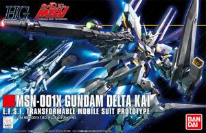 Bandai Gundam HGUC MSN-001X Delta Kai MSV 1/144 Model Kit