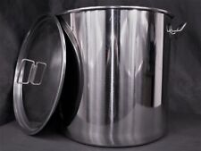 33ltr stainless steel stockpot Hlt Kettle mash tun tank fermenter brew pot