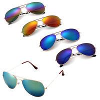 HN- Classy Womens Mens Polarized Retro Mirror Lens Sunglasses Glasses