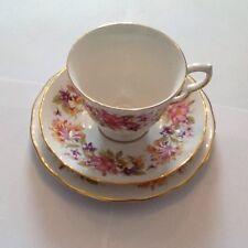 COLCLOUGH CUP SAUCER & TEA PLATE