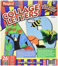 Roylco R52020 Collage Letters