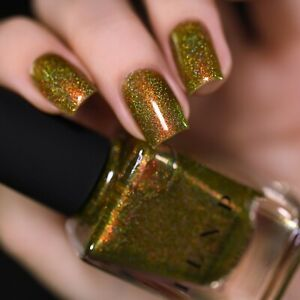 ILNP Legacy - Olive-Yellow Holographic Nail Polish