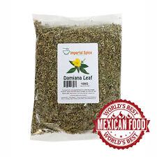Damiana Dried - Leaf 100g - Aphrodisiac and sexual boost - Herbal Tea  - Smoking