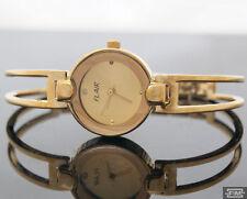Clásico Reloj De Pulsera Para Señoras Oro Mujeres Brazalete Nuevo