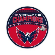 "2018 Stanley Cup Champions 12"" Car Magnet Washington Capitals"