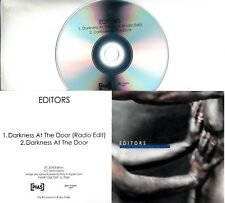 EDITORS Darkness At The Door 2018 UK 2-trk promo test CD