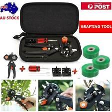 Garden Grafting Tool Set Kit Fruit Tree Pro Pruning Shears Snips Cutting Tool