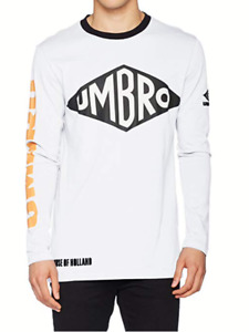 House of Holland Mens Umbro Long Sleeve T-Shirt Casual Shirt size S BNWT RRP£75