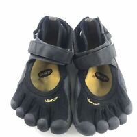 Vibram Womens Fivefingers Barefoot Shoes Size 38 Black 7-7.5
