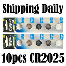 10pcs Pairdeer CR2025 Button Cell Battery Coin Lithium Battery Expiry 2016