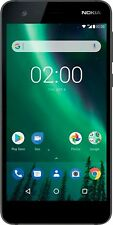 Nokia 2 (4G VoLTE RAM 1GB * ROM 8GB Camera 8 MP )* Mobile Phone * Pewter Black
