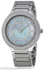Michael Kors MK3395 Kerry Mother of Pearl Dial Stainless Women's Watch